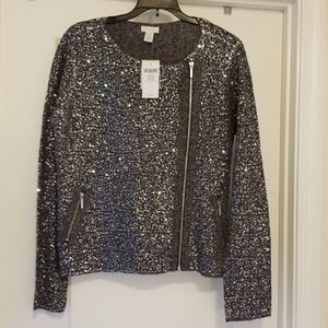 Chico's sequined jacket